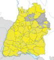 Karte Gemeinden Baden-Württemberg August 2015 Artikel alswiki.png