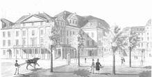 Das alte Opernhaus in Kassel, an dem Spohr 35 Jahre dirigierte (Quelle: Wikimedia)
