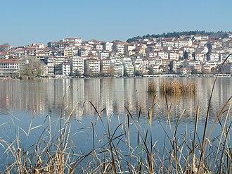 Lake Orestiada - Image: Kastoria by the Lake gnkeris