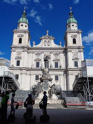 Katedrala, Salzburg - zapad