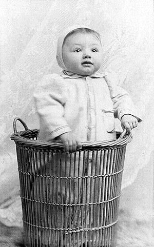 Katharine Cornell - Katharine Cornell as a baby