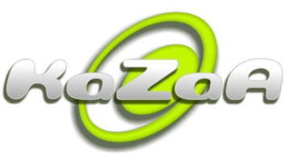 Kazaa peer-to-peer file sharing application