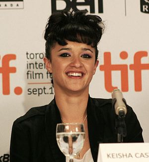 Keisha Castle-Hughes - Castle-Hughes at a press conference for The Vintner's Luck, September 2009
