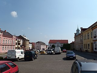 Kelč Town in Czech Republic