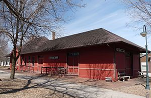 National Register of Historic Places listings in Monroe County, Wisconsin - Image: Kendall Depot