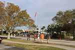 Kennedy Space Center walking toward entrance.JPG