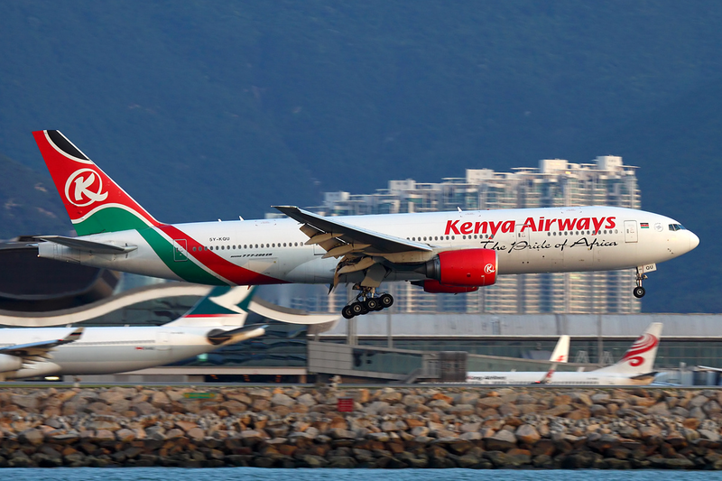 Kenya Airways Boeing 777-200ER
