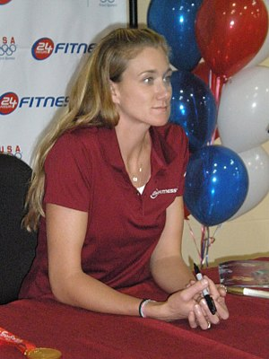 Kerri Walsh Jennings - Walsh-Jennings at a 24 Hour Fitness in 2008