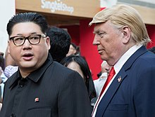 Kim Jong-un and Donald Trump impersonators.jpg