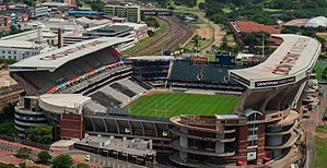Das Kings-Park-Stadion in Durban