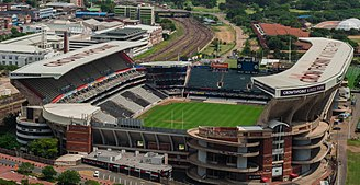 1995 Rugby World Cup - Image: King's Park Stadium, Durban