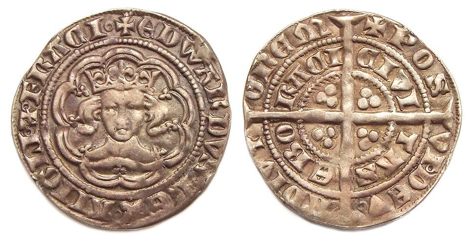 King Edward III half groat York mint