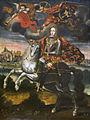 King Louis I of Spain on Horseback, early 18th century. Peruvian, Philadelphia Museum of Art.jpg