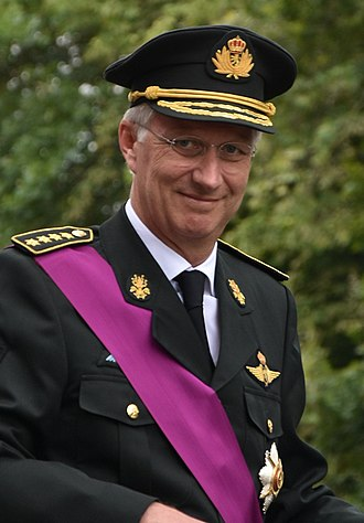 Philippe of Belgium - The King celebrating Belgian National Day, 2018