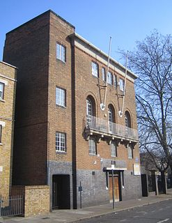 Kingsley Hall community centre in the East End of London