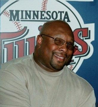 2001 Baseball Hall of Fame balloting - Image: Kirby Puckett retired