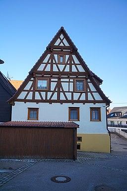 Kirchgasse in Hildrizhausen