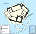 Kisimul Castle Map-fr.png