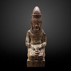 Kneeling Amenhotep III as the god Neferhotep-1970.636