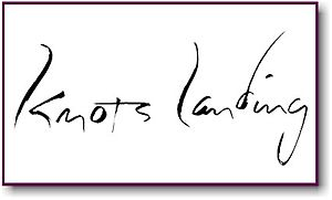 Knots Landing - Knots Landing Logo (Seasons 9–10)