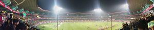 Jawaharlal Nehru Stadium (Kochi) - Image: Kochi Jawaharlal Nehru Stadium Panorama