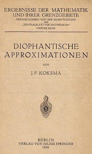 Jurjen Ferdinand Koksma