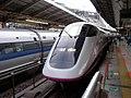 Komachi Shinkansen train at Tokyo Station.jpg