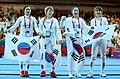 Korea London WomenTeam Fencing 18 (7730593446).jpg