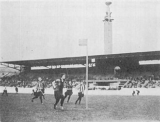 Korfball - Korfball match at the 1928 Summer Olympics in the Olympic Stadium in Amsterdam
