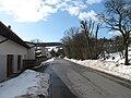 Kostelní Střimelice, silnice vedoucí z Hradce.JPG