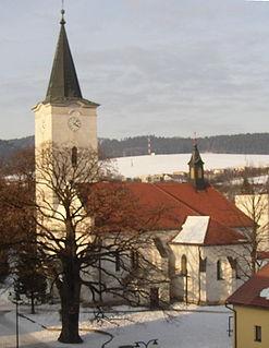 Lipany Town in Slovakia