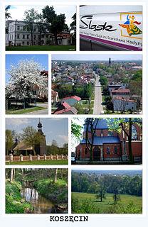 Koszęcin Village in Silesian, Poland