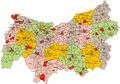 Kraków Voivodeship Administrative Map 1938.png