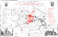 Krakow-cityplan by M Niewiarowski 1850.png
