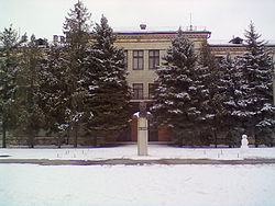 Crop research institute building in Krasnoslobodsk