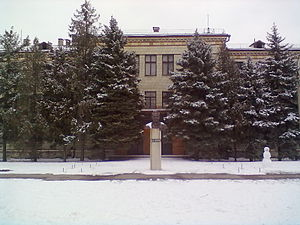 Krasnoslobodsk, Volgograd Oblast - Crop research institute building in Krasnoslobodsk