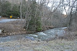Stream near Curwensville
