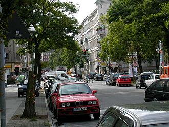 Kreuzberg - A street in Kreuzberg