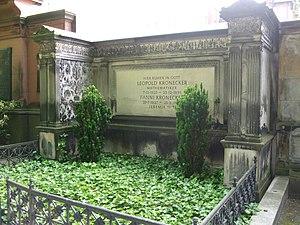 Leopold Kronecker - Grave of Kronecker (St Matthäus, Berlin)