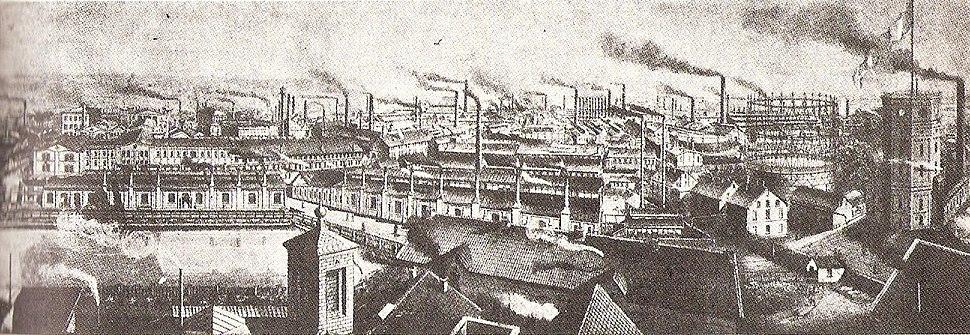 Krupp factory 1880