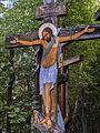 Krzyż w lesie - Grabarka.jpg