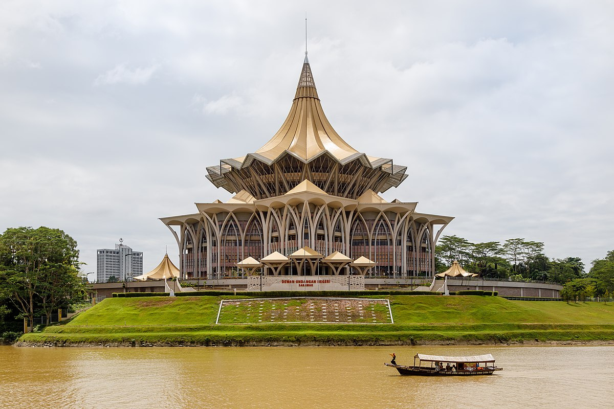 New Sarawak State Legislative Assembly Building Wikipedia
