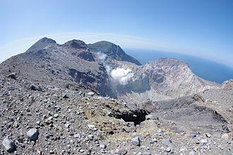 Kuchinoerabu-jima - Shindake Crater