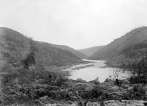 Lapland gold rush - Ivalo River in the late 1890s