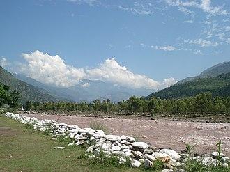 Balakot - Image: Kunhar river near Balakot