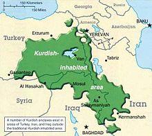 kurdistan karte Kurdistan – Wikipedia