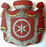 Kurmainzische Wappentafel 1750