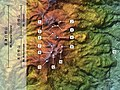 Kusatsu-Shirane Volcano (SRTM) (Number).jpg
