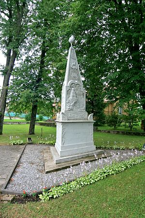 Kvėdarna - Vytautas the Great Monument