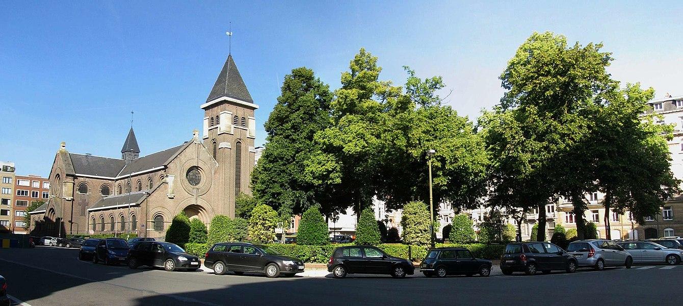L'Annonciation et la Place Brugmann